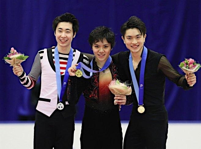20170226 アジア大会フィギュアスケート男子 時事