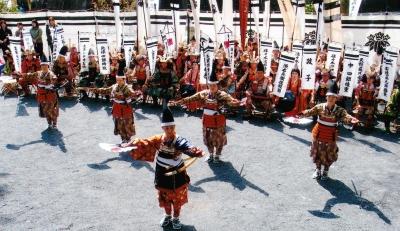 「焼亡の舞」五所神社