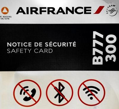 エールフランスB777-300