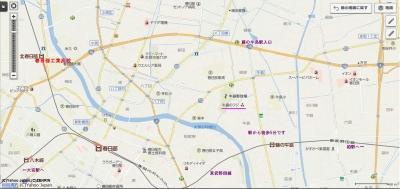 牛島駅地図