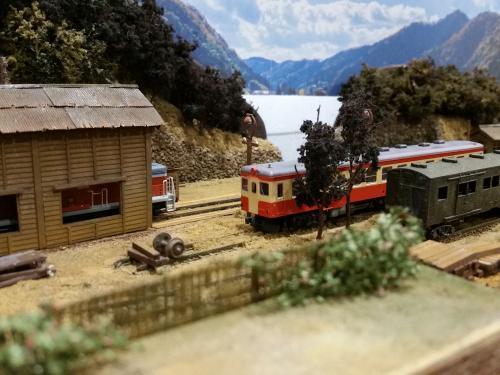 鉄道模型レイアウト 駅