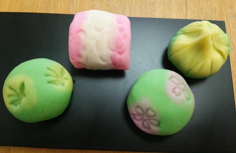 3和菓子作り