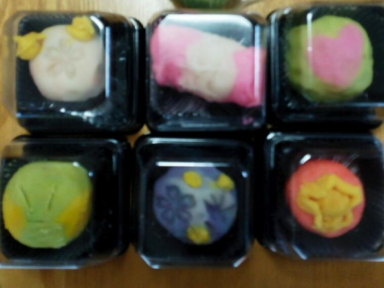 7和菓子作り