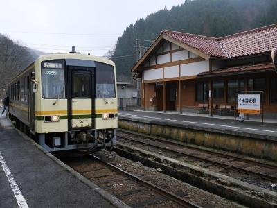 木次線 出雲坂根駅 キハ120