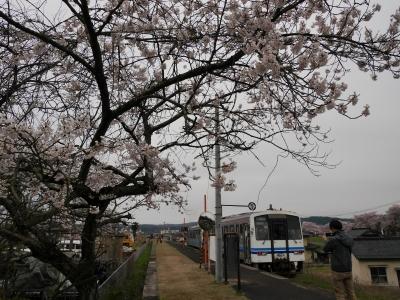 三江線 尾関山駅 キハ120
