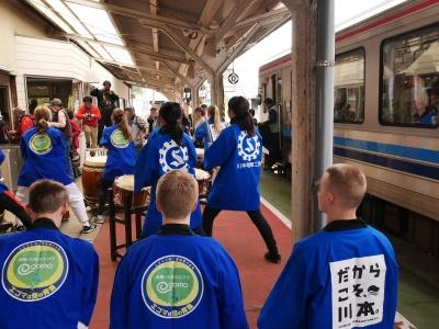 三江線 石見川本駅 キハ120
