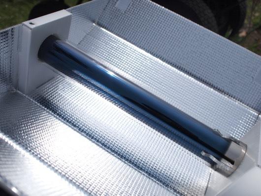 ソーラークッカー エコ作の真空管