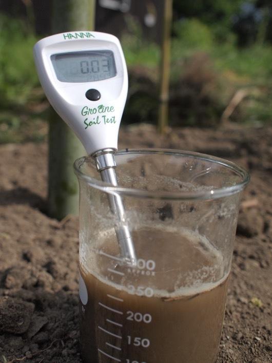 pH/EC 土壌診断