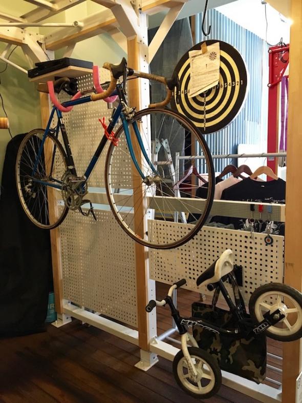 自転車ラック 室内
