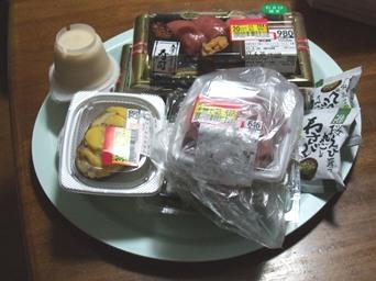 4/26 誕生日ように買った食品