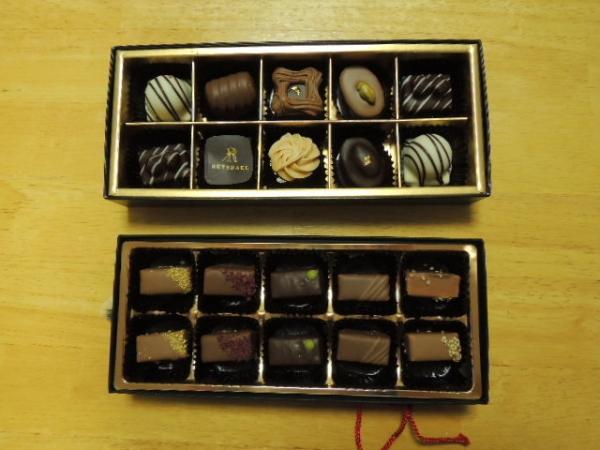 ロイスダール バレンタインチョコレート(近鉄生駒チョコ)