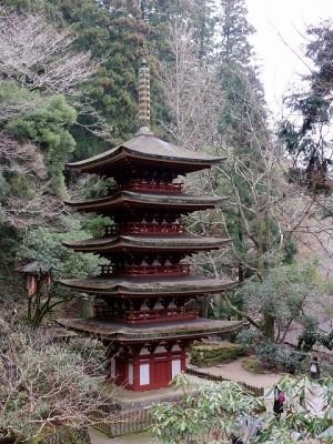 室生寺・五重塔