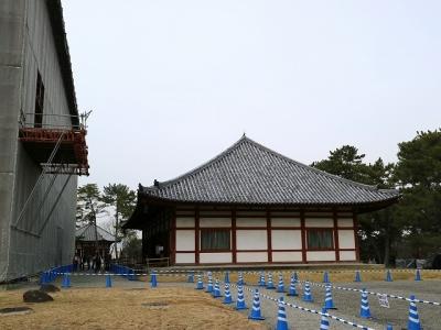 興福寺・仮講堂
