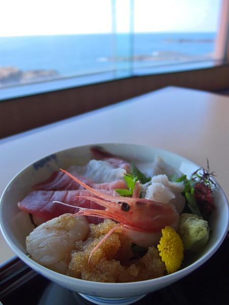 海鮮丼@秋田