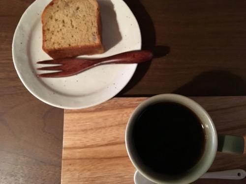 2017-02-16コーヒーとパウンドケーキ