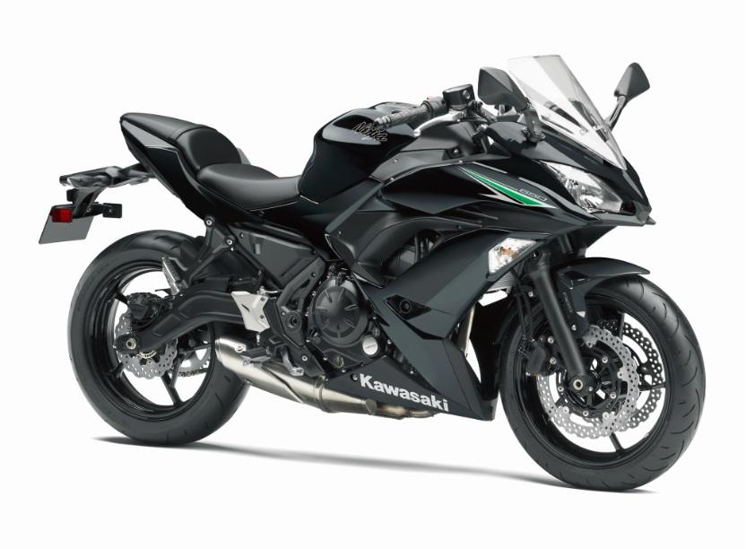 17 Ninja 650 ABSメタリックスパークブラック