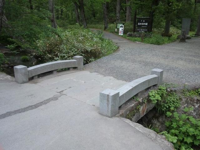 奥社の参道橋 (2)