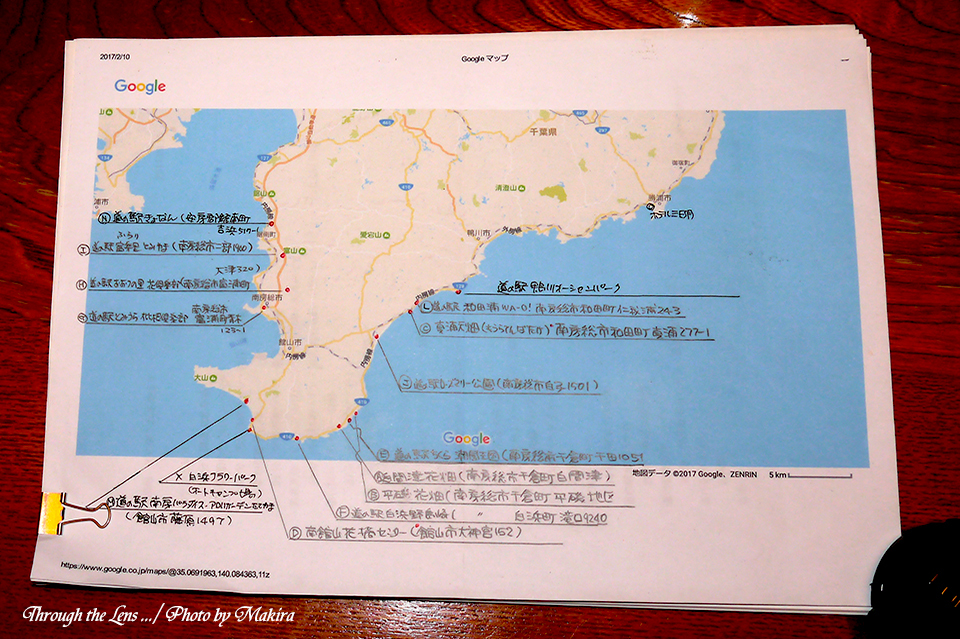 南房道の駅・花巡り計画L1