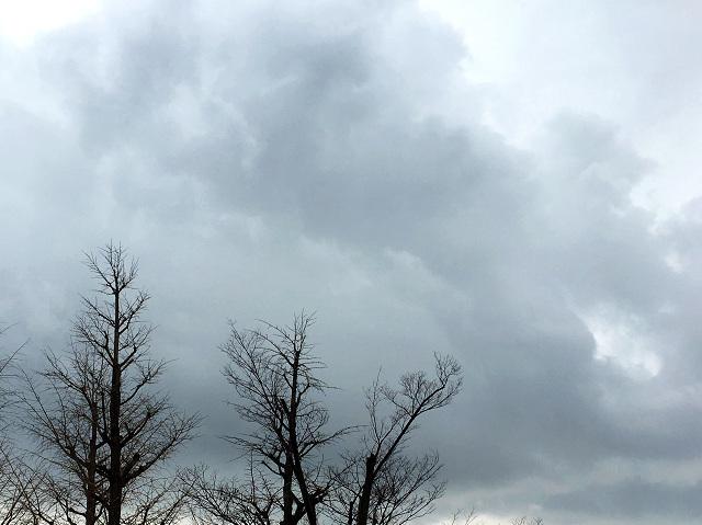 どんより曇る東京@2017年2月22日2 by占いとか魔術とか所蔵画像