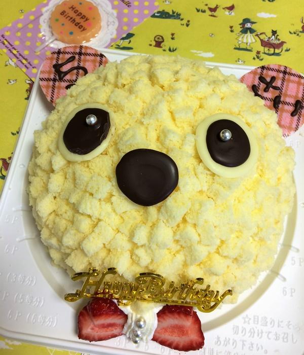くまのケーキ