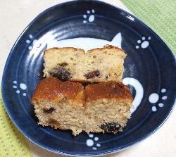 バナナパウンドケーキ1