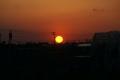 千葉県旭市からの夕日