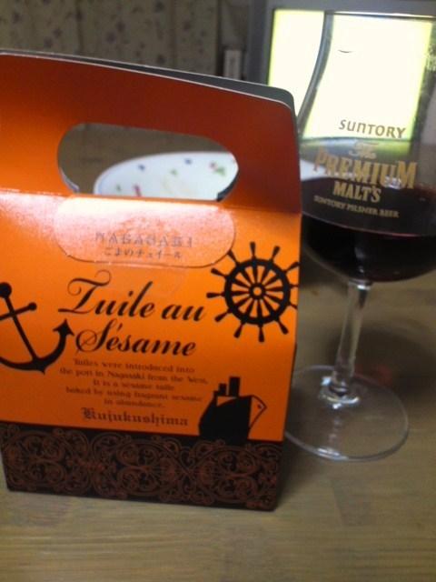Tuile au Sesame(ごまのチュイール)