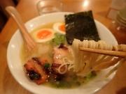 大門 鶏ポタ ラーメン THANK ラーメン(ぽてり)(2017/2/21)
