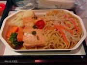2017/2/16夕食 UL455便(成田-コロンボ)にて