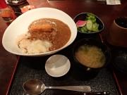 浜松町 青柚子 魚河岸カレー(2017/3/10)