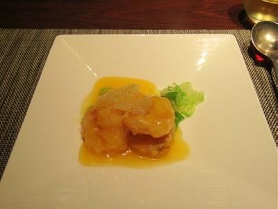 s-小海老のグレープフルーツソース