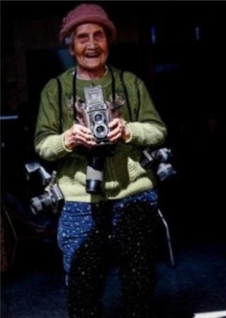 105歳の現役女性カメラマン