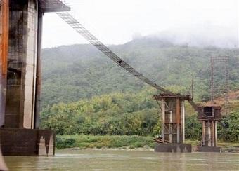 ミャンマー巨大ダム