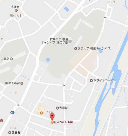 ひょうたん 地図