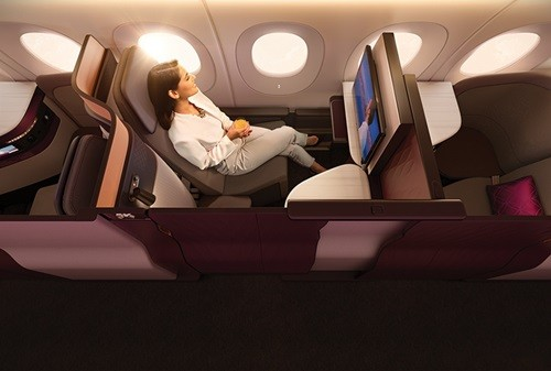 カタール航空で 新しいビジネスクラススイート「QSuites」を発表4