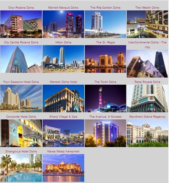 カタール航空で無料のストップオーバーパッケージ(ビザ&無料宿泊)2