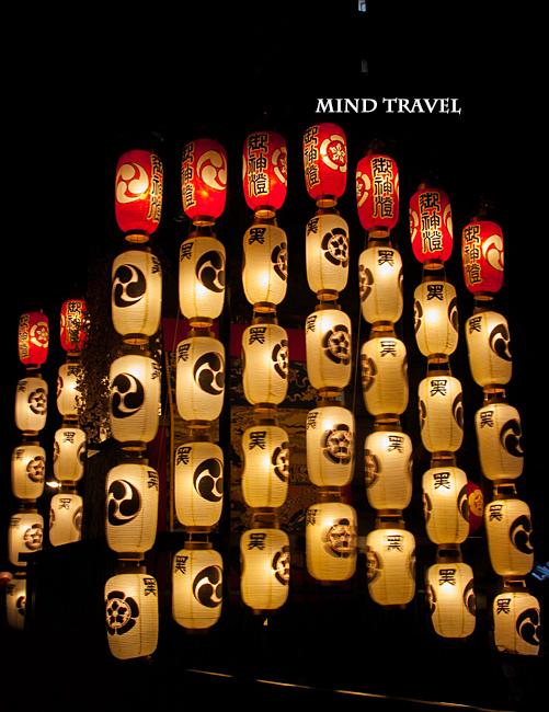 祇園祭 黒主山 提灯
