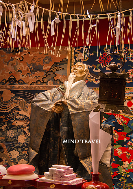 祇園祭 黒主山 御神体