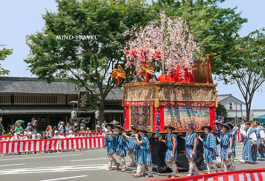 祇園祭 山鉾巡幸 黒主山2