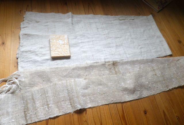 織りすね糸・2枚の全体図
