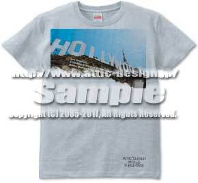 T-shirt Hollywood Sign
