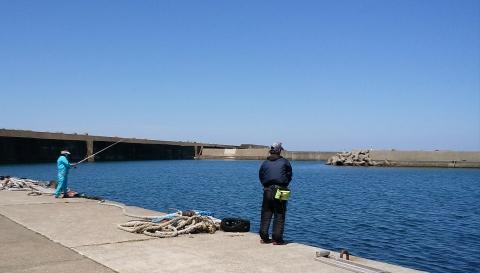 名立港釣り