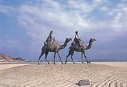 月の砂漠駱駝