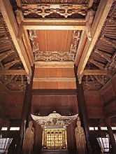 円覚寺舎利殿内部