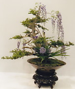 生花芸術展の作品の一つ