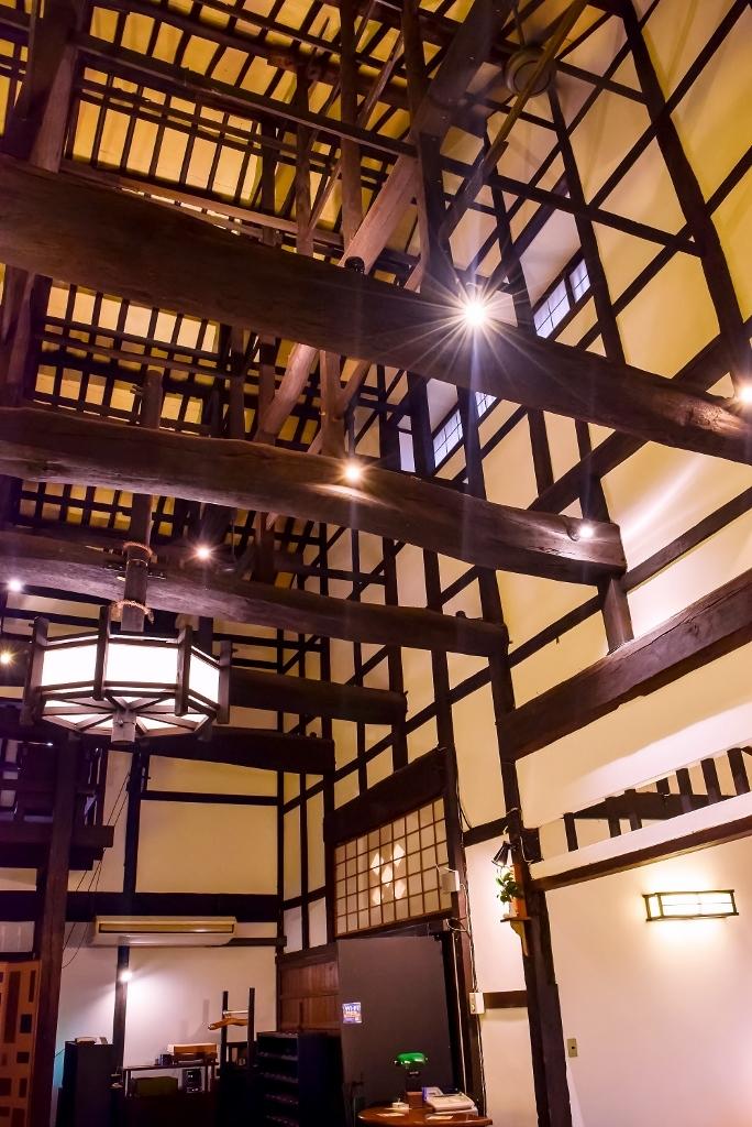 酒蔵の天井