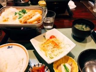 豆腐かつ煮御膳