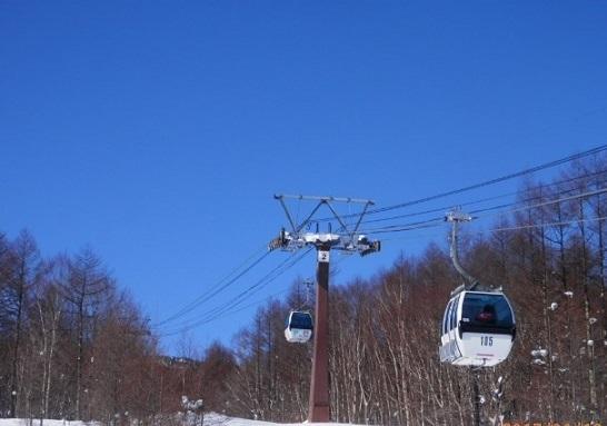 パルコール嬬恋スキー場 ゴンドラ営業開始
