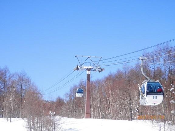 パルコール嬬恋スキー場 ゴンドラ