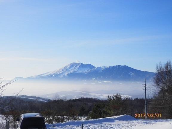 雲海と浅間山